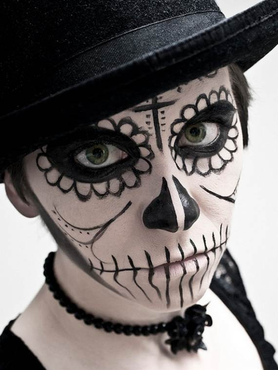 Halloween-Best-Calaveras-Makeup-Sugar-Skull-Ideas-for-Women (13)