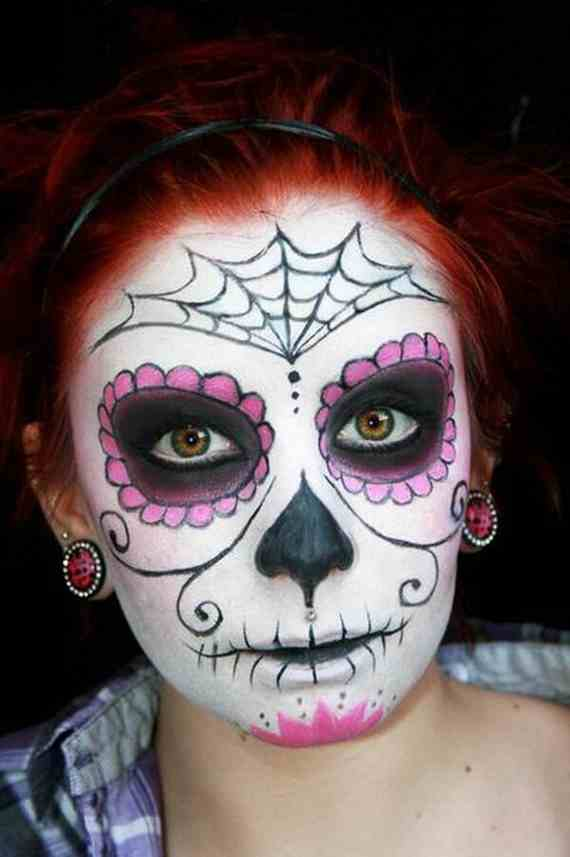 Halloween-Best-Calaveras-Makeup-Sugar-Skull-Ideas-for-Women (20)