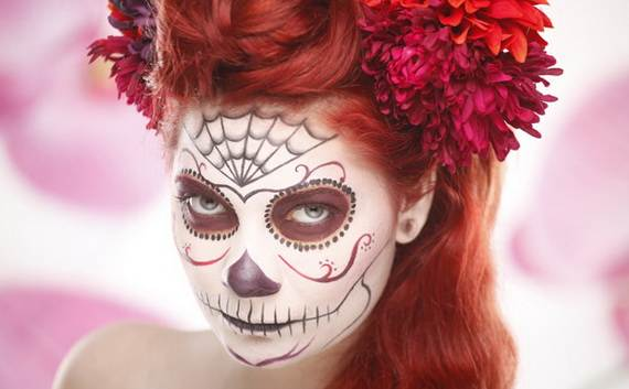 Halloween-Best-Calaveras-Makeup-Sugar-Skull-Ideas-for-Women (22)