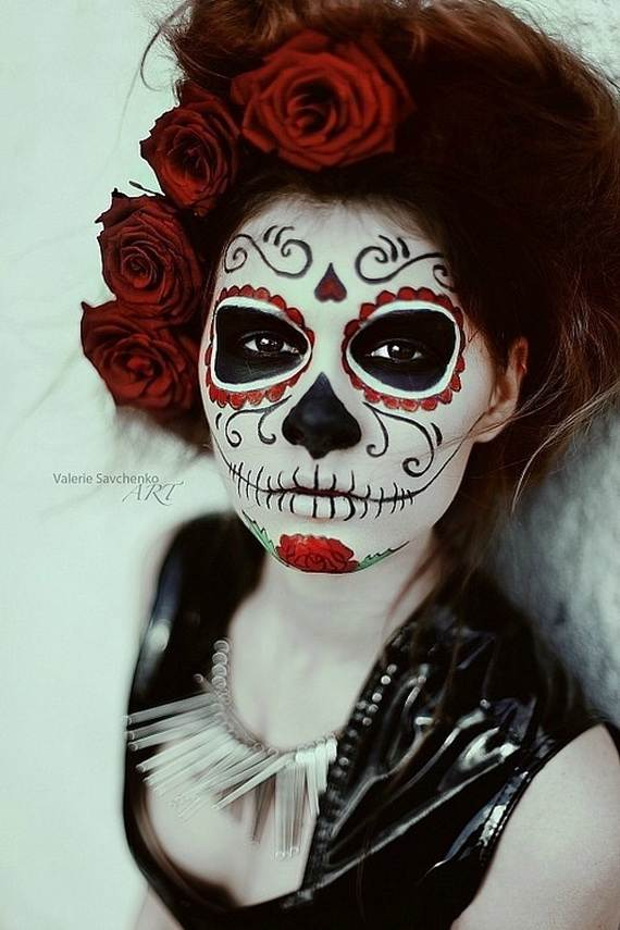 Halloween-Best-Calaveras-Makeup-Sugar-Skull-Ideas-for-Women (26)