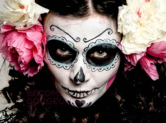 Halloween-Best-Calaveras-Makeup-Sugar-Skull-Ideas-for-Women (29)