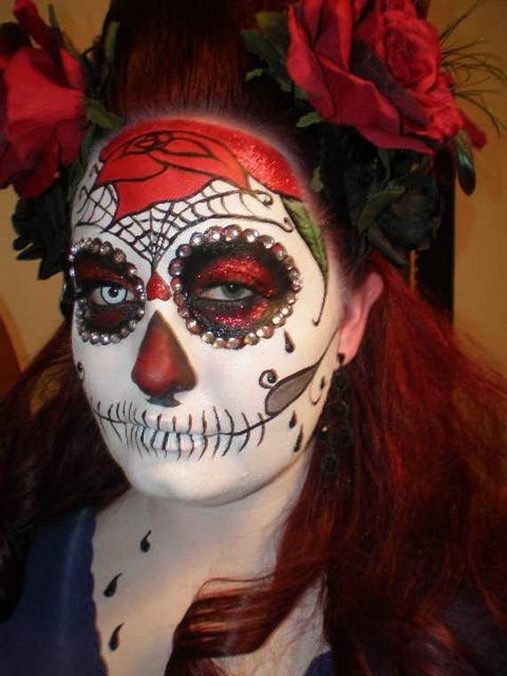 Halloween-Best-Calaveras-Makeup-Sugar-Skull-Ideas-for-Women (32)