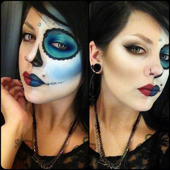 Halloween-Best-Calaveras-Makeup-Sugar-Skull-Ideas-for-Women (6)