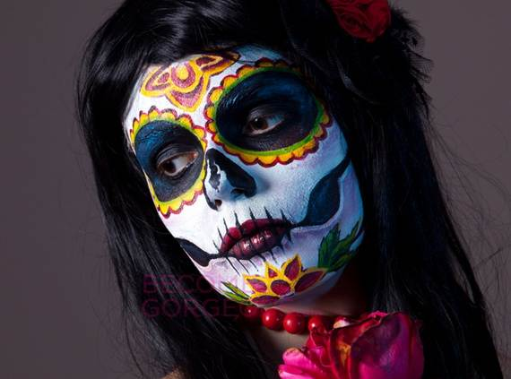 Halloween-Best-Calaveras-Makeup-Sugar-Skull-Ideas-for-Women (8)