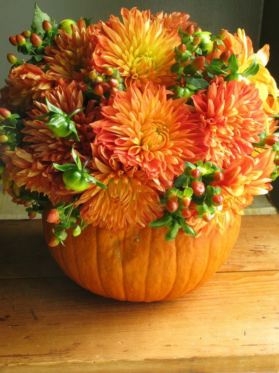 Halloween Wedding Centerpiece Ideas