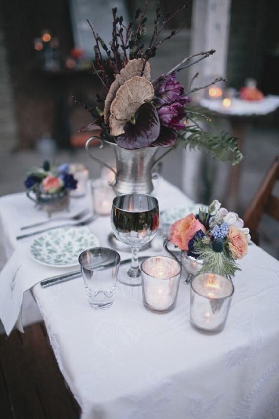 Halloween Wedding Centerpiece Ideas _30
