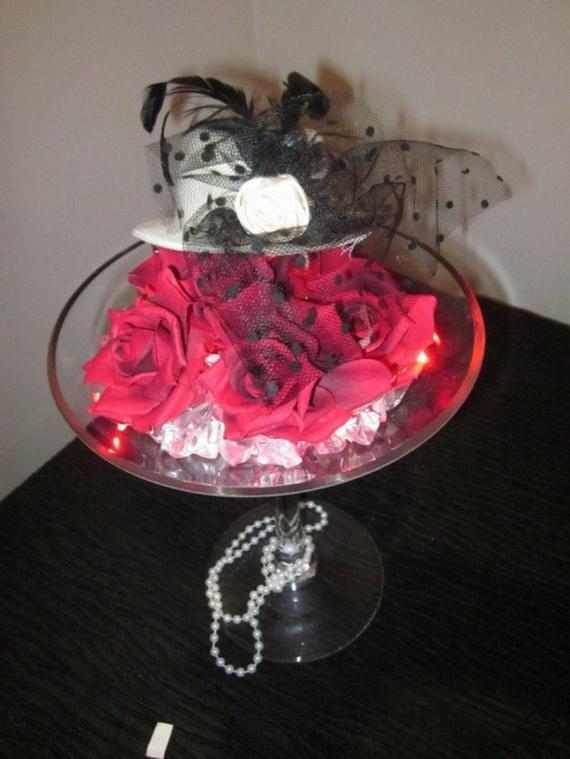 Halloween Wedding Centerpiece Ideas _41
