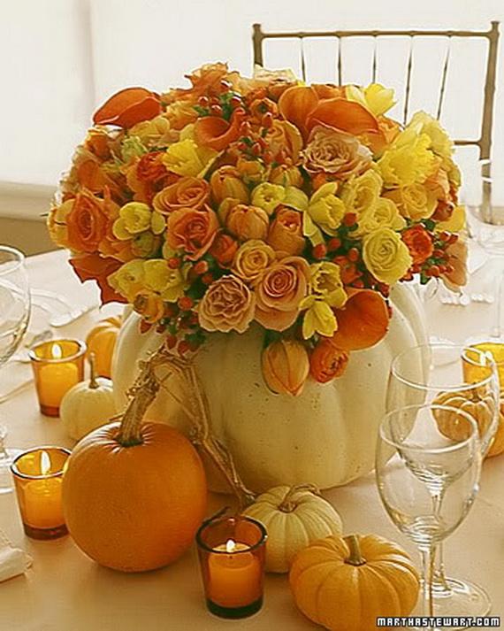 Halloween Wedding Centerpiece Ideas _47