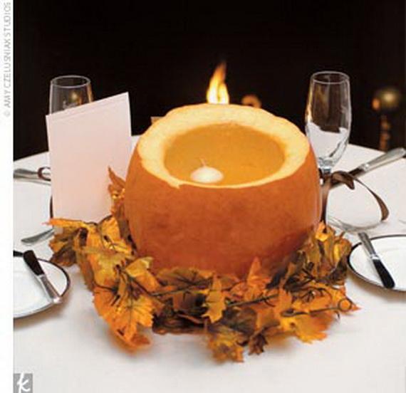 Halloween Wedding Centerpiece Ideas _50