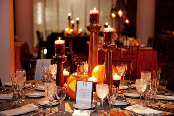 Halloween Wedding Centerpiece Ideas _62