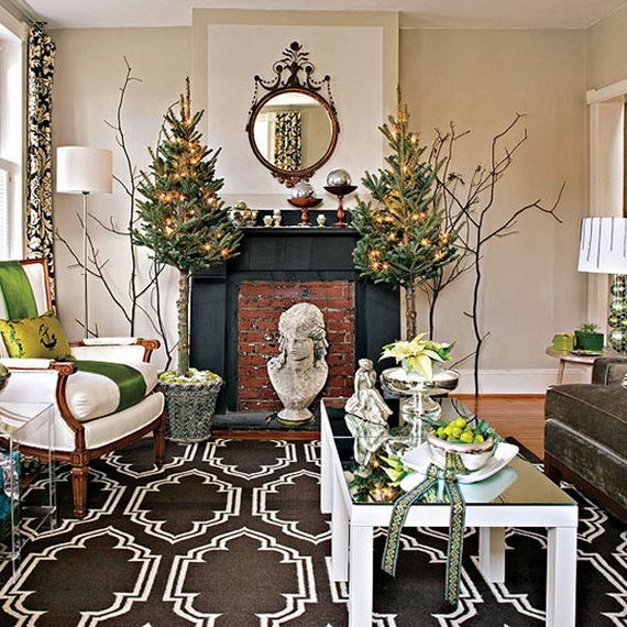 Holiday Decorating Ideas for Small Spaces Interior_10