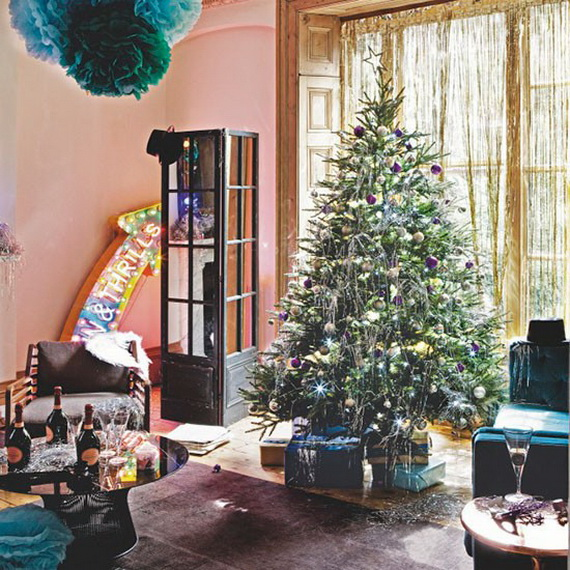 Modern Christmas Decoration Ideas modern christmas decorating ideas - family holiday/guide to