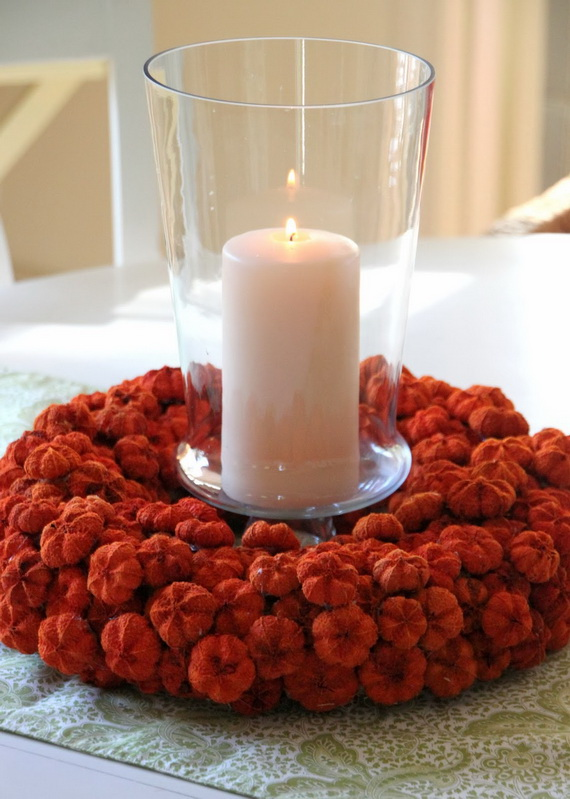 Simple And Easy Thanksgiving Centerpiece Ideas Using Candles_15