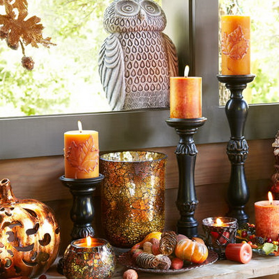 Simple and Easy Thanksgiving Centerpiece Ideas Using Candles_19