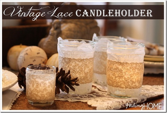 Simple and Easy Thanksgiving Centerpiece Ideas Using Candles_26