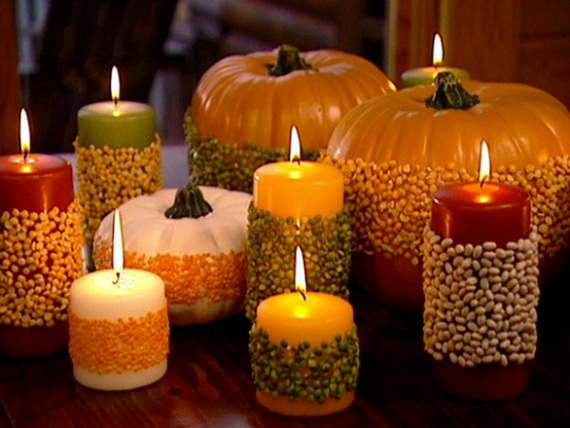 Simple and easy thanksgiving centerpiece ideas using