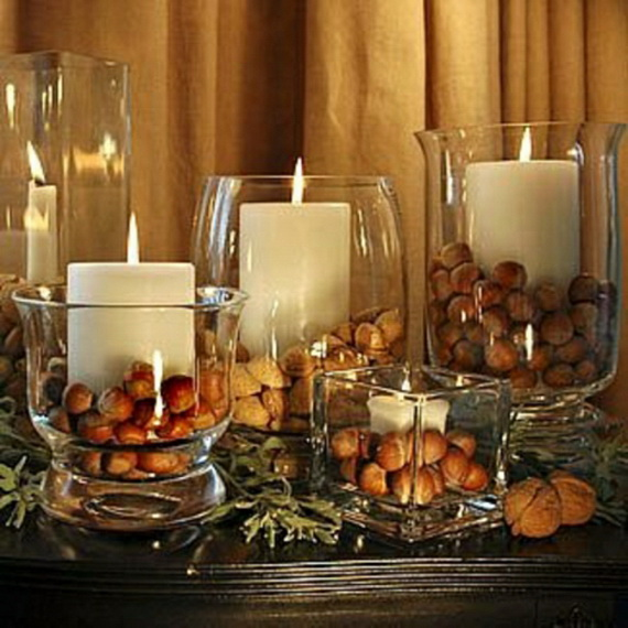 Simple and Easy Thanksgiving Centerpiece Ideas Using Candles_56