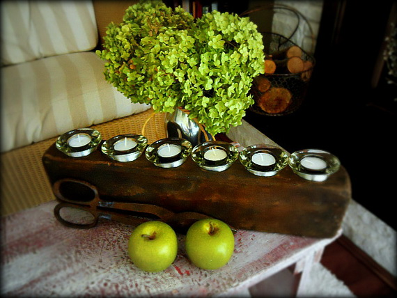 Simple and Easy Thanksgiving Centerpiece Ideas Using Candles_57