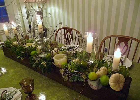 Simple and Easy Thanksgiving Centerpiece Ideas Using Candles_65
