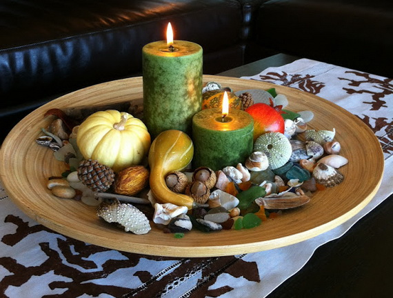 Simple and Easy Thanksgiving Centerpiece Ideas Using Candles_67
