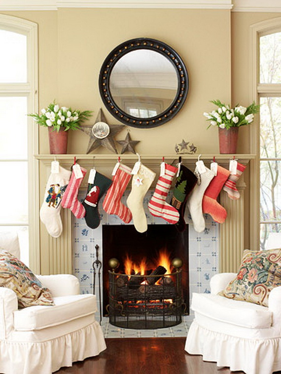 Splendid Christmas Stockings Ideas For Everyone_01