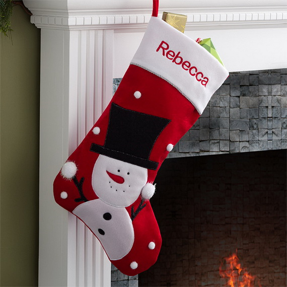 splendid christmas stockings ideas for everyone_11 - Christmas Stocking Decorating Ideas