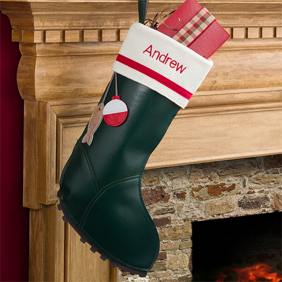 Christmas Stocking Craft Ideas Part - 32: Splendid Christmas Stockings Ideas For Everyone_14