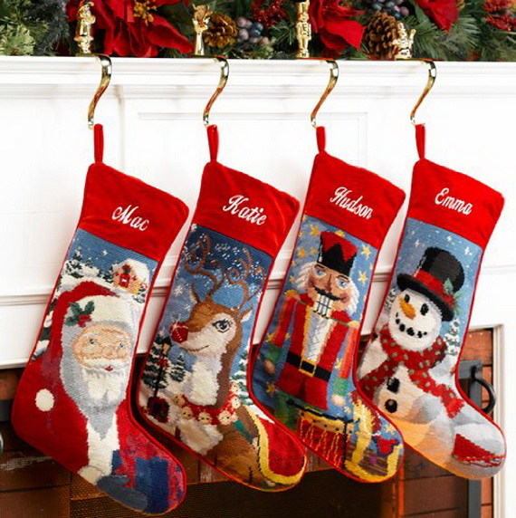 Splendid Christmas Stockings Ideas For Everyone_32