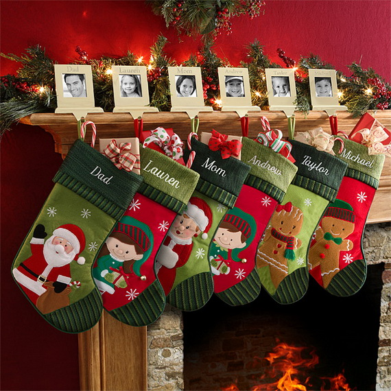 Splendid Christmas Stockings Ideas For Everyone_34