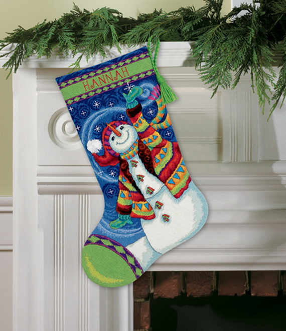 Splendid Christmas Stockings Ideas For Everyone_38
