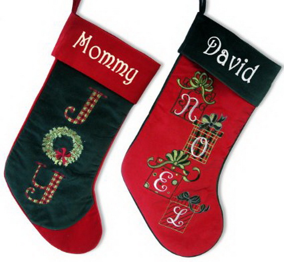 Splendid Christmas Stockings Ideas For Everyone_40