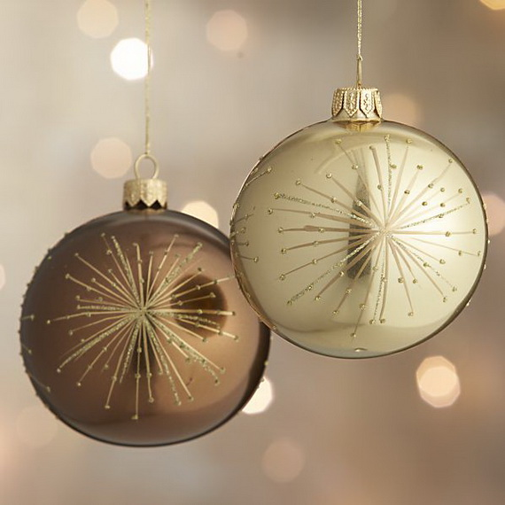 splendid ideas for christmas tree decoration with silver and gold ornaments_60 - Decorating With Silver And Gold For Christmas