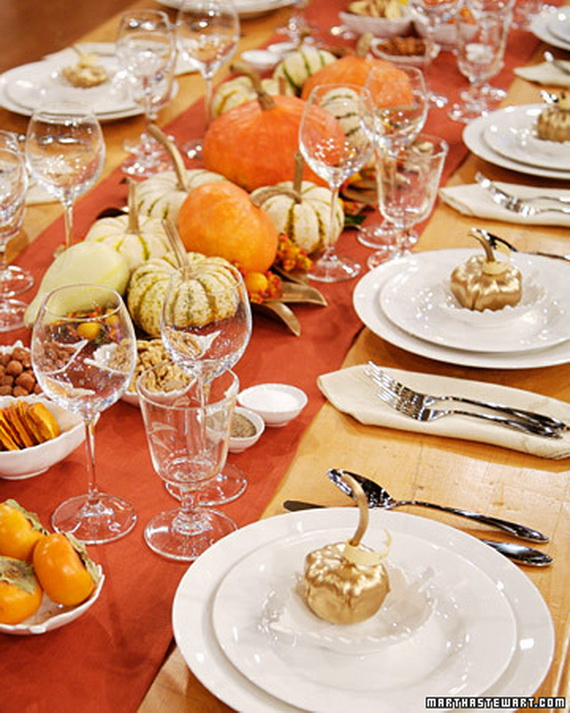 Thanksgiving Home Decor Ideas Festive Atmosphere In Gold And White 2
