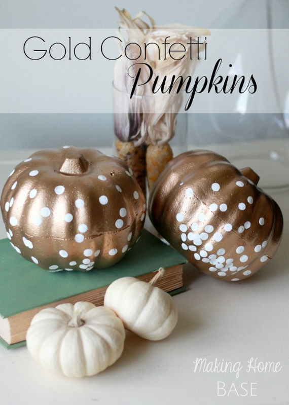 Thanksgiving home decor ideas – festive atmosphere in Gold And White