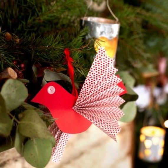 30 Easy Handmade Christmas craft and Decoration ideas for kids _11