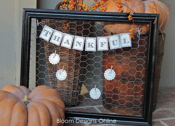 60 Amazing Thanksgiving Diy Decorations (1)