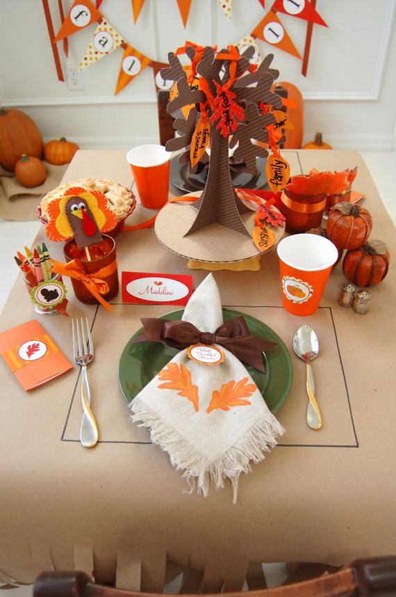 60 Amazing Thanksgiving Diy Decorations (13)