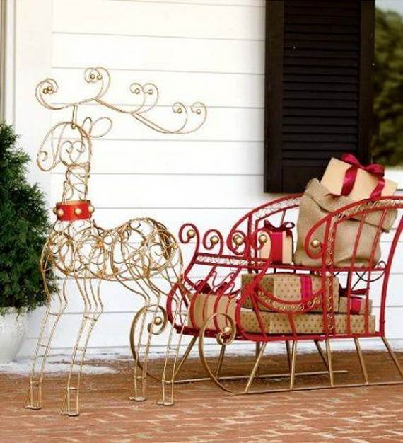 60 Trendy Outdoor Christmas Decorations_05