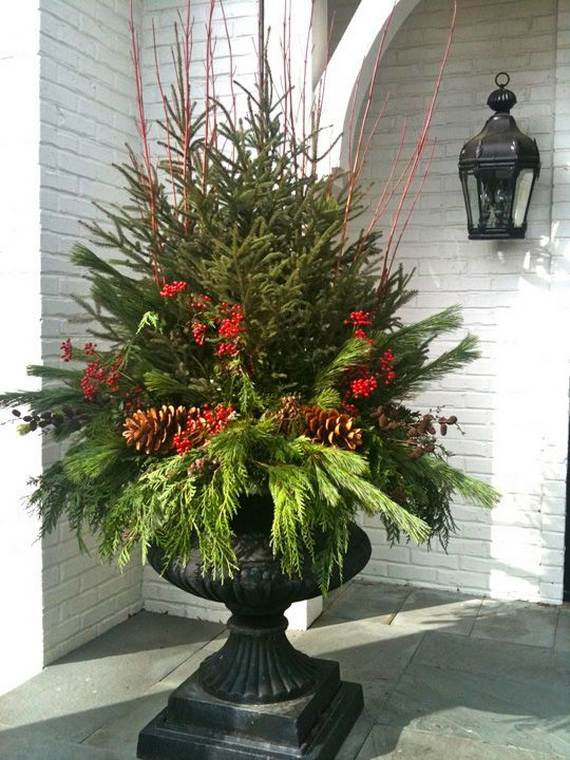 60 Trendy Outdoor Christmas Decorations_10