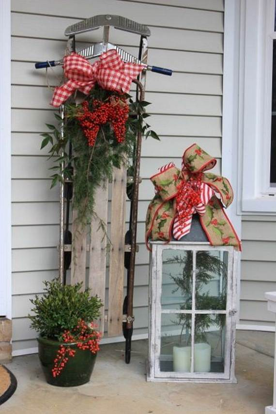 60 trendy outdoor christmas decorations_24 - Outdoor Christmas Decorating Ideas Pictures