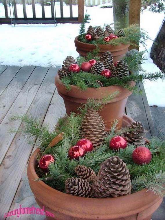 60 Trendy Outdoor Christmas Decorations_25