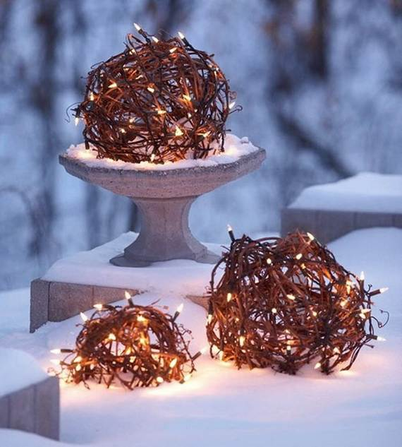 60 Trendy Outdoor Christmas Decorations_30