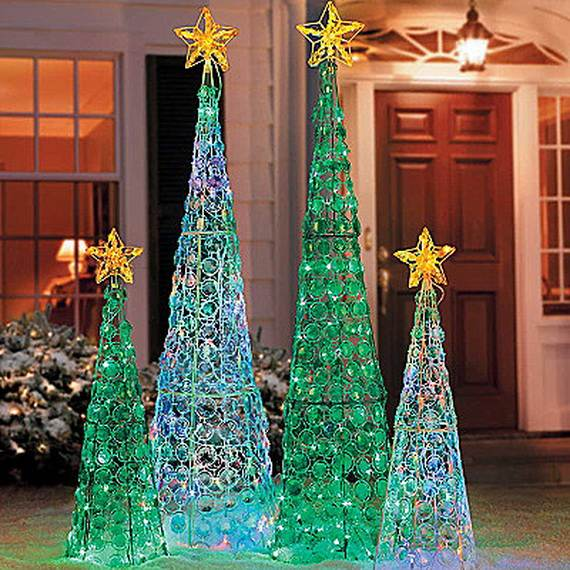 60 Trendy Outdoor Christmas Decorations_37