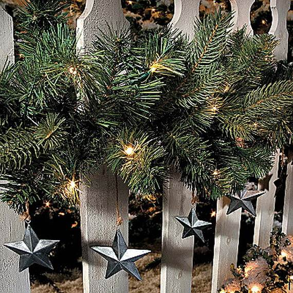 60 Trendy Outdoor Christmas Decorations_39