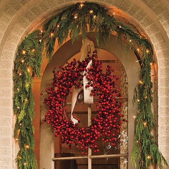 60 Trendy Outdoor Christmas Decorations_44