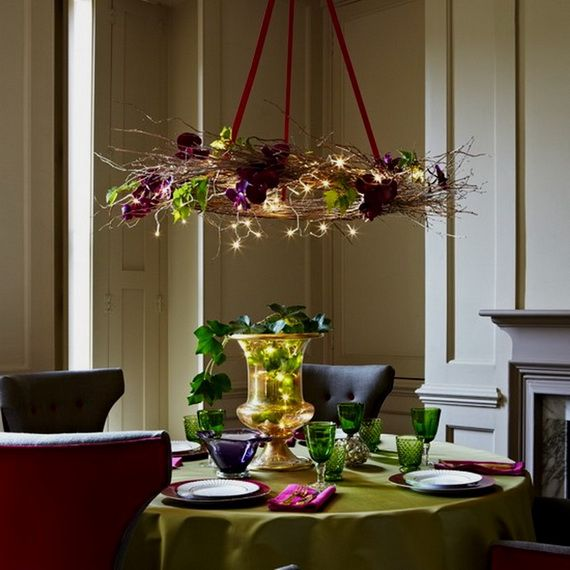 A Festive Christmas Table Decoration In Style_013