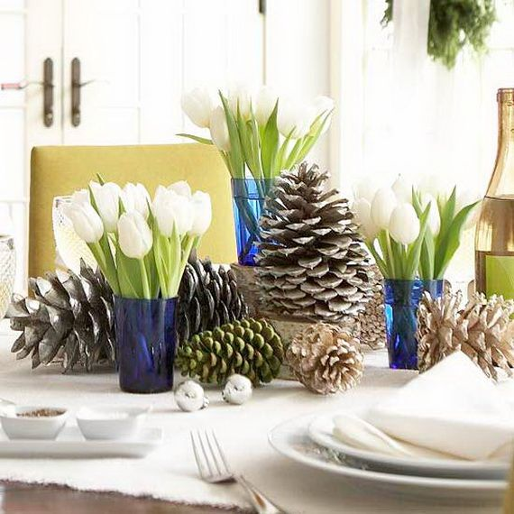 A Festive Christmas Table Decoration In Style_075