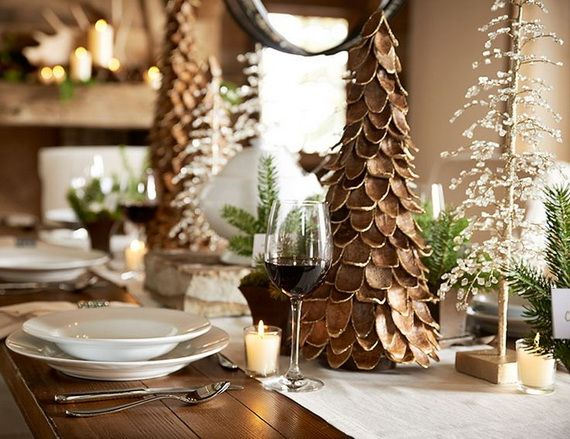 A Festive Christmas Table Decoration In Style_086