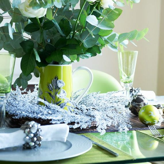 A Festive Christmas Table Decoration In Style_093
