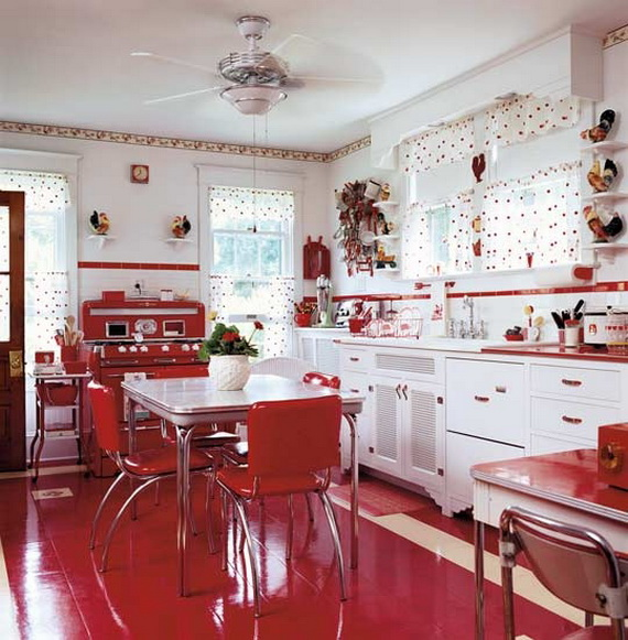 Amazing Red Interior Designs For The Holidays_20